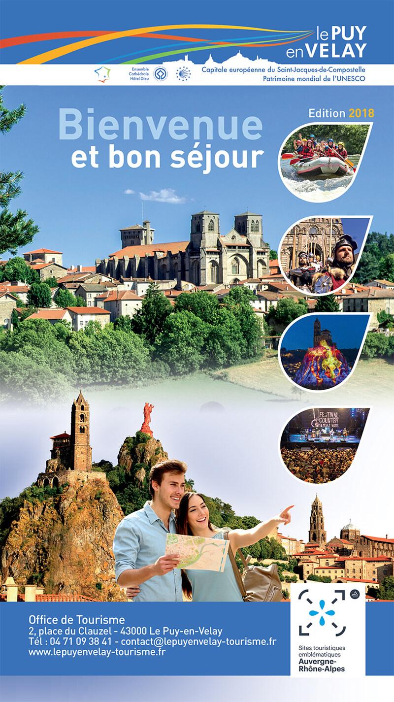 Brochures et plans l 39 office de tourisme de l 39 agglom ration du puy en velay - Office du tourisme le puy en velay ...