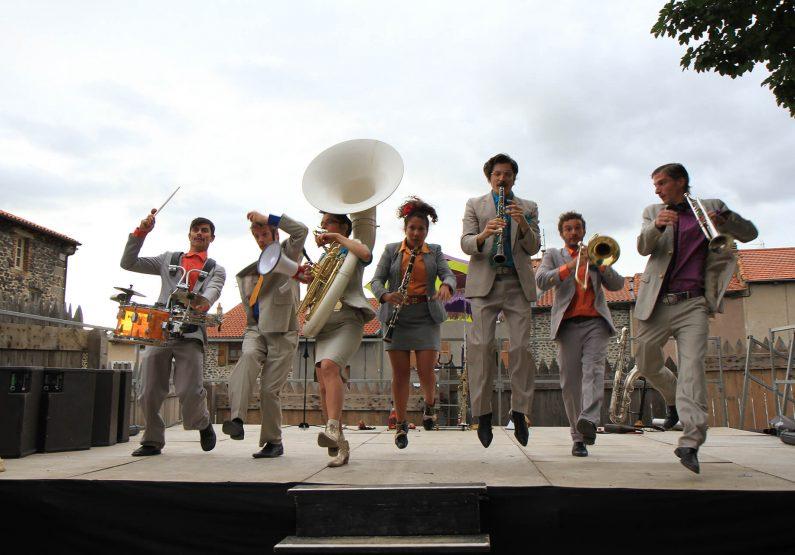 Le festival de Musique Les Cuivres du Monastier