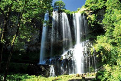 La cascade de la Beaume à Solignac-sur-Loire