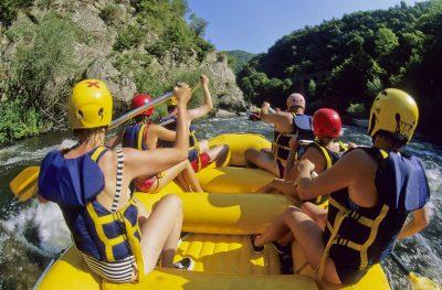 Rafting sur l'Allier