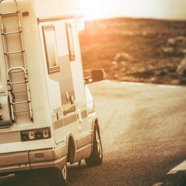 En camping – car