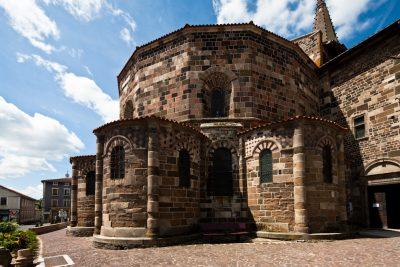 Eglise Saint-Georges à Saint-Paulien