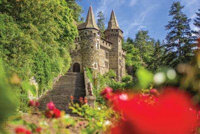Le château de la Rochelambert, près de Saint-Paulien