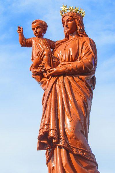 Le Puy-en-Velay – Statue Notre-Dame de France