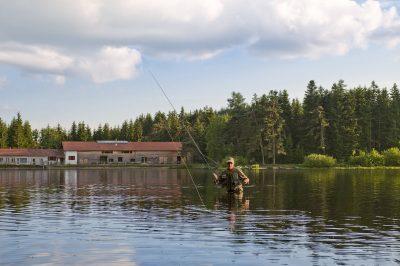 Pêche au lac de Malaguet