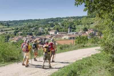 Randonnée sur le GR3, les sentiers de la Loire