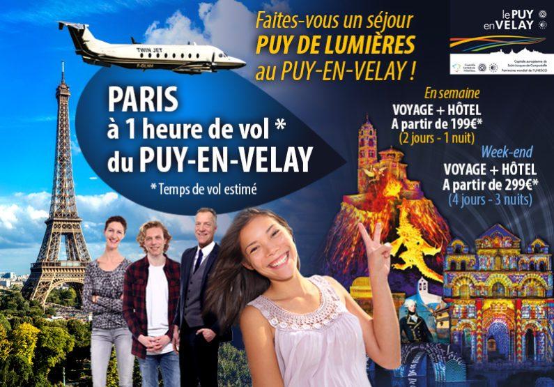 Séjour 2j/1n Le Puy de Lumières de PARIS