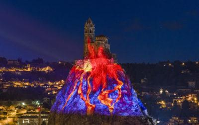Puy de Lumières en Velay – Le rocher Saint-Michel