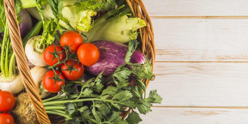 Panier de légumes -producteurs