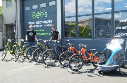 Station Bee's facilite la pratique du vélo !