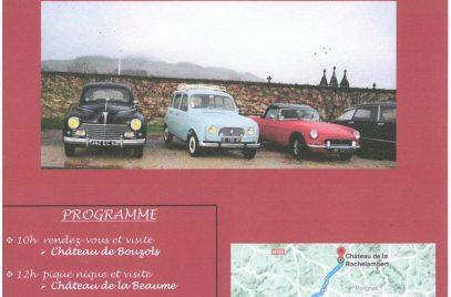 Concentration de vieilles voitures
