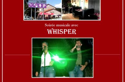 Soirée musicale avec Whisper