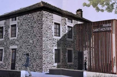 Journée nationale de l'architecture – Saint-Hostien : de la cure à la mairie