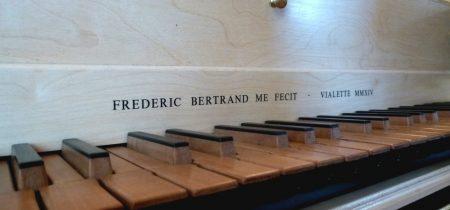 Frédéric Bertrand – facteur et restaurateur de clavecin