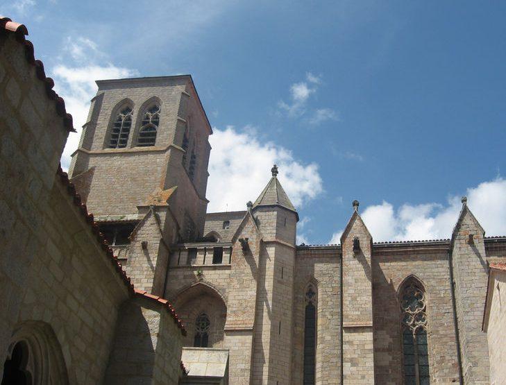 SEJ_De la Chaise-Dieu au Puy-en-Velay – abbaye de la Chaise-Dieu 1