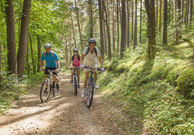 SEJ_Week-End Rando Voie Verte_sur la voie verte près d'Yssingeaux