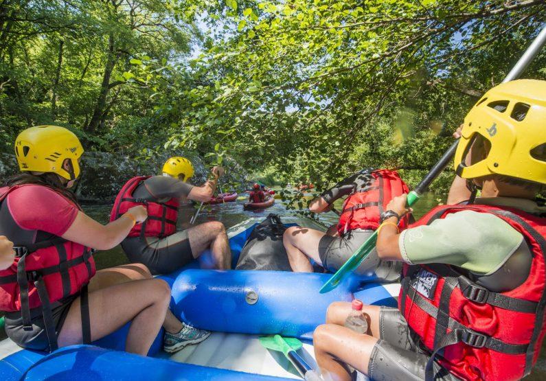 SEJ_Week-End Aventure dans les Gorges de l'Allier_rafting