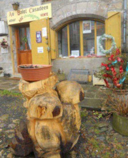 champignon sculpté