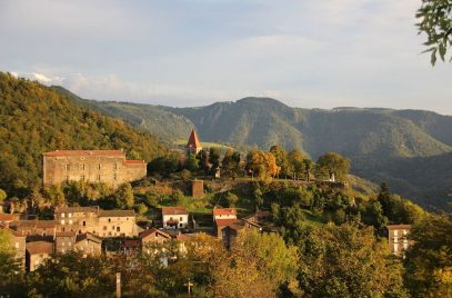 Rando : Sur le Saint Jacques de Saint Privat d'Allier au Puy en Velay