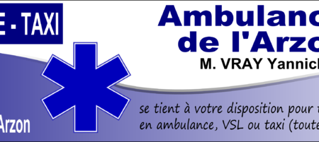 Ambulances de l'Arzon