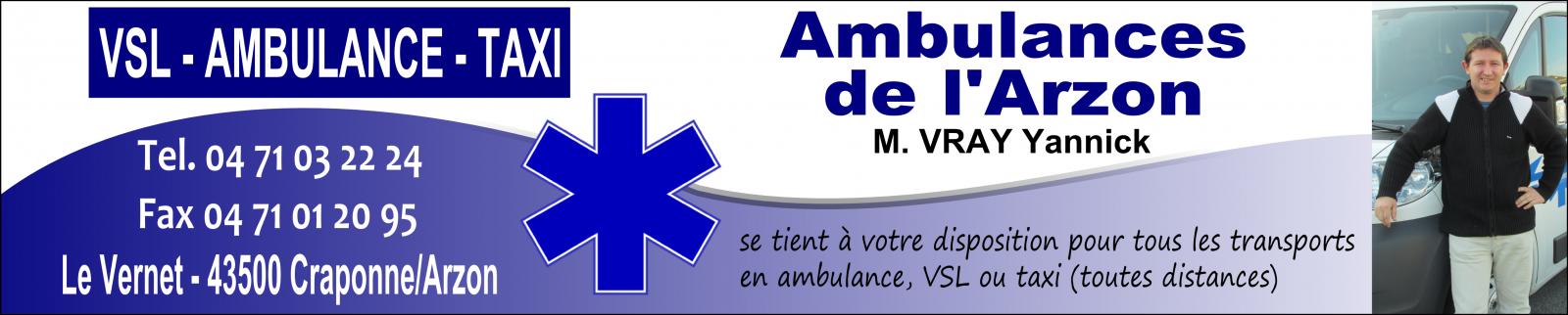 Ambulances de l'Arzon