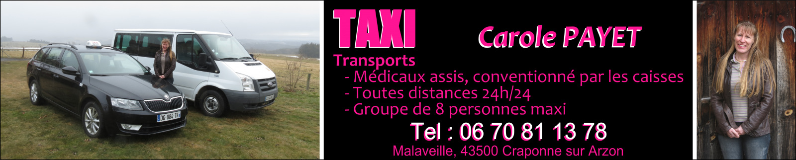 Taxi Carole Payet