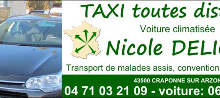 Taxi Nicole Delion