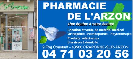 Pharmacie de l'Arzon