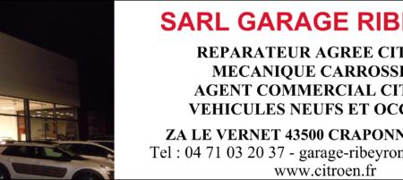 Sarl Garage Ribeyron – Agent Citroën