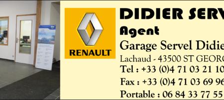 Garage Servel – agent Renault
