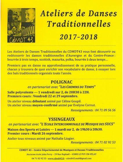 22 septembre ateliers danses traditionnelles
