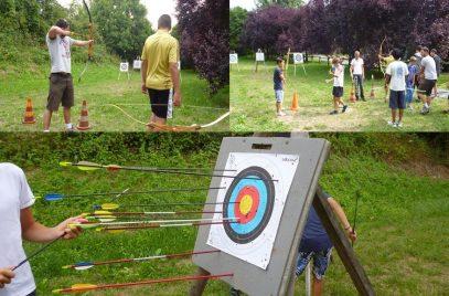 Tir à l'arc – Ecole de Pagaie du Velay