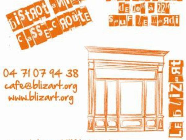Café Blizart à La Chaise-Dieu