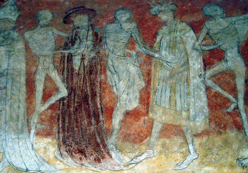 danse macabre abbatiale de La Chaise-Dieu