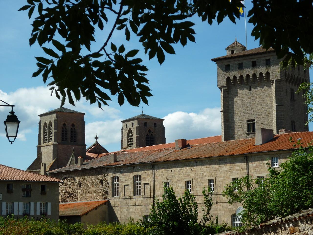 bâtiment conventuel de La Chaise-Dieu