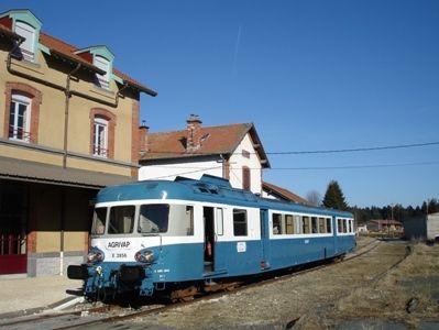 train Bleu d'Auvergne Agrivap