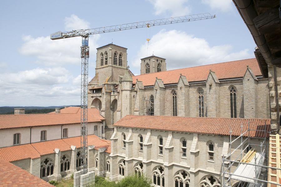 Archéologie du bâti à l'Abbaye de la Chaise-Dieu