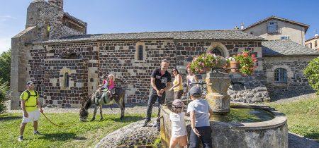 Groupe : Journée du Puy-en-Velay au Monastier, sur les Pas de Stevenson