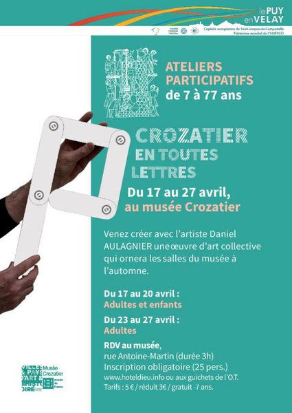 Ateliers participatifs au Musée Crozatier