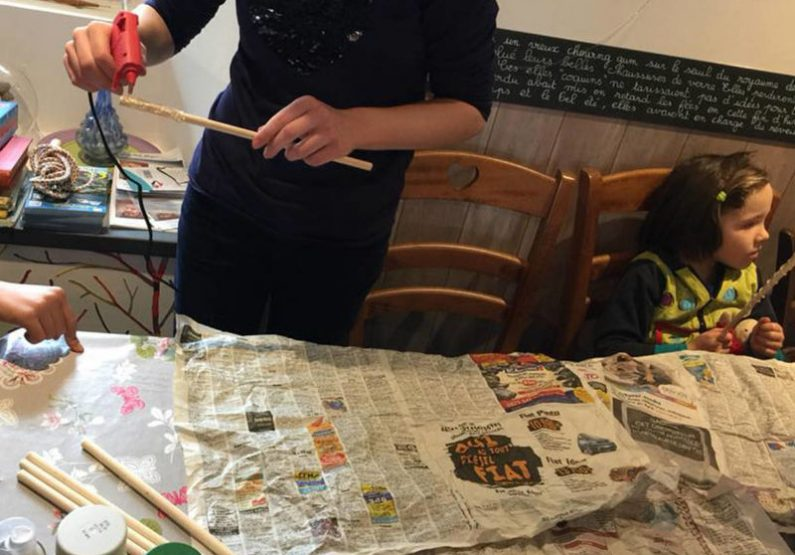 Atelier création baguette