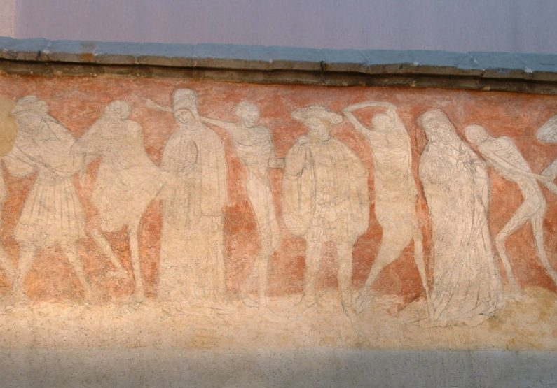 fresque de La Danse Macabre