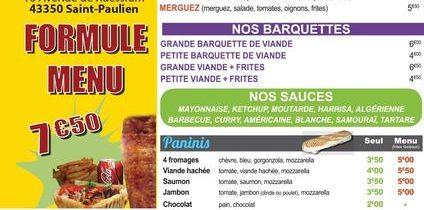 Kebab «Le bosphore 2»