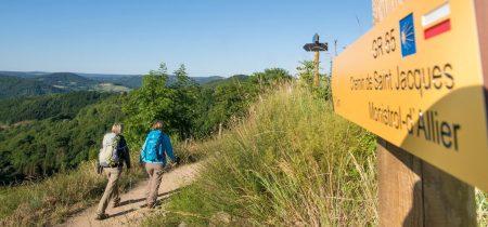 Saint-Jacques à pied : Du Puy-en-Velay à Nasbinals