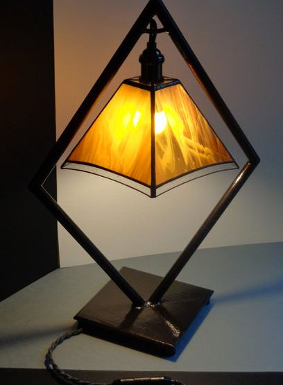 lampe losange