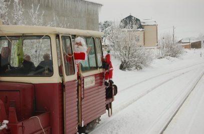 Trains du Père Noël