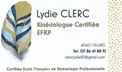 Lydie Clerc, kinésiologue