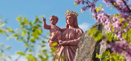 Statue Notre-Dame de France