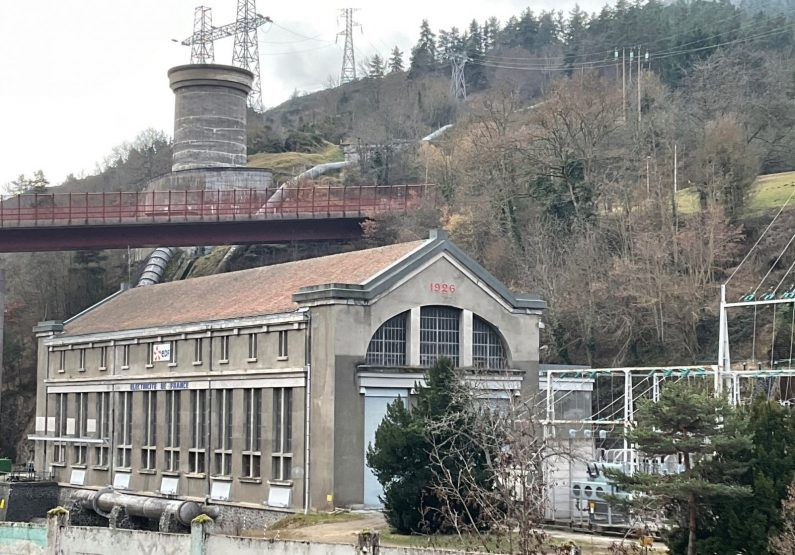 Usine hydroélectrique