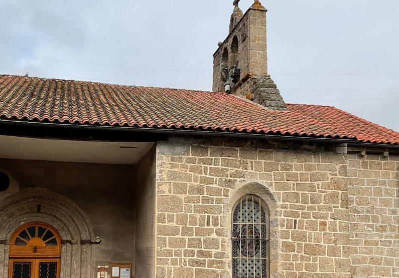 Eglise de Saint Pierre vue du sud