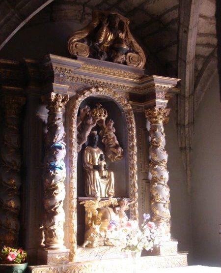 PCU_église Ntre-Dame de l'Assomption_Autel de la Vierge noire